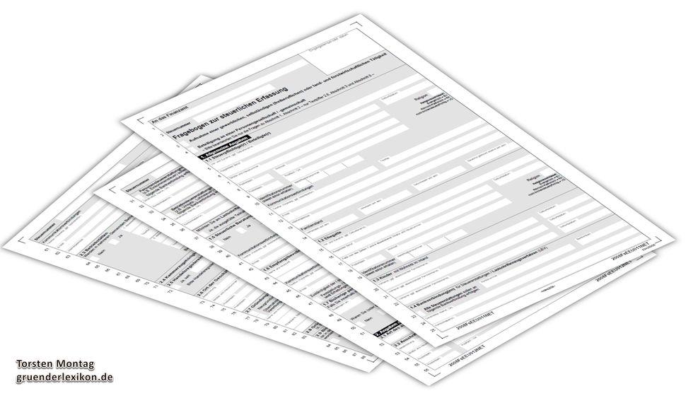 Häufige Fragen Faq Zum Steuerlichen Erfassungsbogen