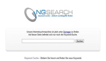 NG Search Startseite