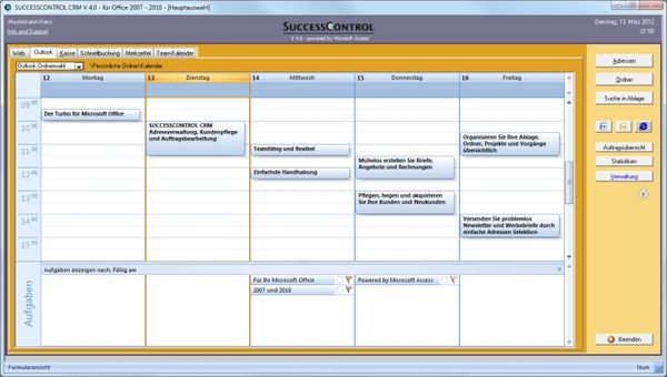 Successcontrol Screenshot