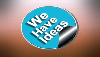 We Have Ideas Sticker
