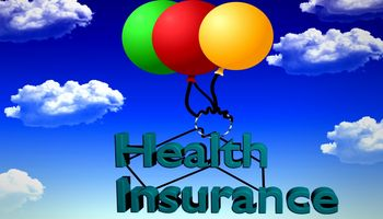 Wolken, Luftballons, health insurance