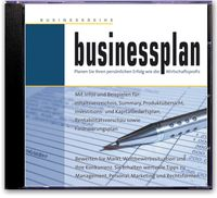 Businessplan CD Cover
