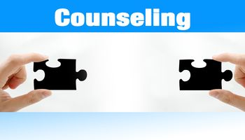 Counseling, zwei Puzzle, Hände