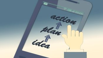 Smartphone: action, plan, idea