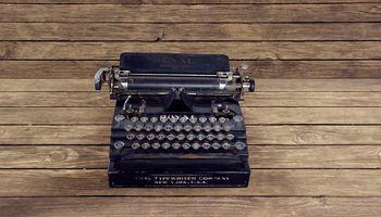 typewriter - Rentabilitatsvorschau Muster
