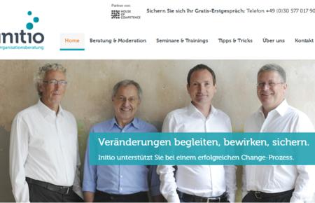 Webseite initio